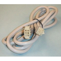 Extension cord for flexible light tube