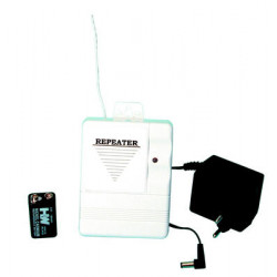Repeater pack 433.92mhz repeater pack for ce1 control panel (rp1 repeater +rp1a electric plug in power supply +6f22n rechargeabl