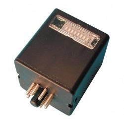 Receiver radio receiver 1 channel receiver, 30,875mhz 12vdc 24vac radio receivers channel receivers wireless transmission system