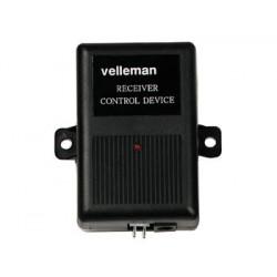 Recepteur radio 433.92mhz 1 canal 12v am6621 pour 600-2n 600-1b telecommande transmission velleman