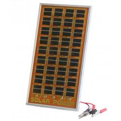 Paneles solar fotovoltaico cargador solar 12v 120ma captor solares para cargar sus baterias