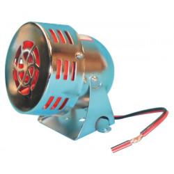 Electromechanic turbine siren 110db chromium plated turbine siren, 12vdc 0.7a 500m turbine siren sonore protection alarm system