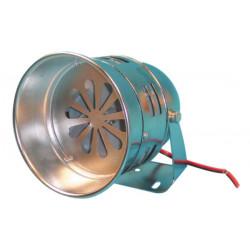 Electromechanic turbine siren 115db chromium plated turbine siren, 12vdc 3.5a 1000m turbine siren sonore protection alarm system