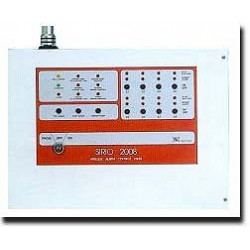 Central alarma electronica inalambrica 8 zonas 27.12mhz sirio 2008 centrales antirobos inalambricas electronicas