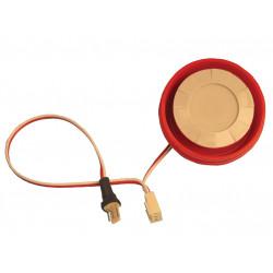 Electronic alarm siren additional siren acm 0s 360 120db exterior back up siren + flash, 12vdc 15w alarm siren battery back up s