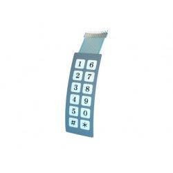 Membrana per tastiera sa223 elettronica stagna membrana tastiera