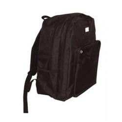Saco a espalda 22l 6 bolsillos negro proteccion policia armada militirio especial seguridad
