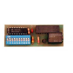 Modulo radio para canal adicional de scr12
