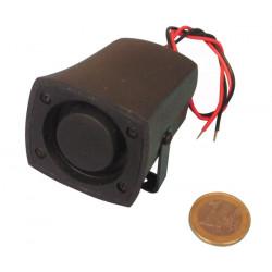 Außensirene 110db 12vdc 150ma 6v 7v 8v 9v 10v 11v 12v grau kleines modell außensirenen alarmsirene alarmsirenen elektronische al