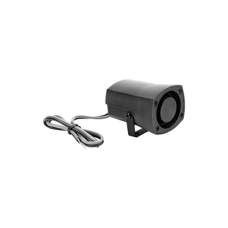 Electronic alarm siren 110db grey waterproof miniature siren