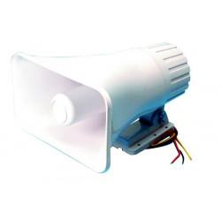 Electronic alarm siren 125db fbi american police double dial tone siren, 12vdc 30w siren alarm sirens electronic acoustic alarm