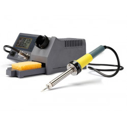 Soldering station with lcd & ceramic heater 48w 150 450°c
