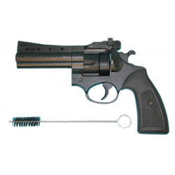 Pistola revolver addestramento tiro svago 5 sparri soft gomm pistola revolver difesa soft gomm