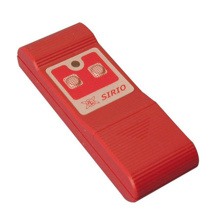 Remote control 2 channel miniature remote control, 27.12mhz 30 100m doors gates automations self motorisations sirio remote