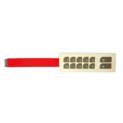 Membrana per tastiera stv3504 membrane tastiera accessori tastiera sistema allarme