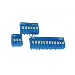 Interruptor dip 6 posiciones de recarga para sus61interruptor dip 6 posiciones ds 6 velleman