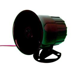 Electronic alarm siren 114db black american police siren, 12vdc 15w electronic siren alarm kojak system electronic alarm siren 1