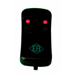 Remote control 2 channel miniature remote control, 26.995mhz 50 200m doors gates automations self motorisations alarms remote co