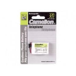 Nicd battery for cordless telephone 3.6v 320mah (universal plug)