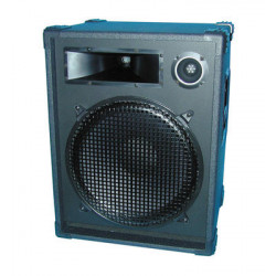 Loudspeaker 2 way sound loudspeaker, 400w maxi (1 unit) accoustic loudspeakers 2 way accoustic loudspeakers accoustic loudspeake