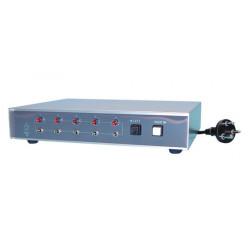 Centrale de commande pour 5 tourelles thi surveillance video centrales de commande orientation