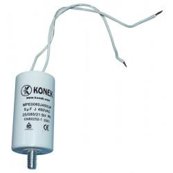 Condensador 6 micro farad 450v condensatores componentes electronicos condensadores s electronicos 6 micro farad