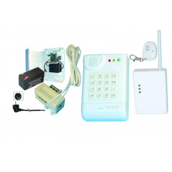 Alarm pack anti distress telephone transmitter electronic alarm listening patient