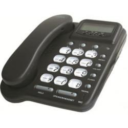 Telefono con hilo escucha amplifcadae mano libre 20 no casco amplificador memoria pabx pabx pabx pabx