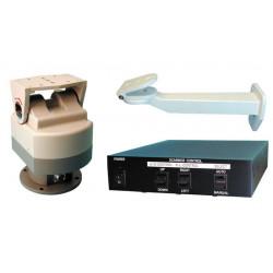 Pack tourelle horizontale verticale etanche ip44 surveillance video tourelles horizontales verticale