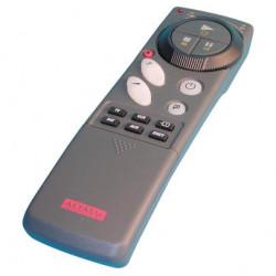 Mando a distancia por infrarrojos con 8 canales tv