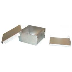 Doppia schermatura metallica box emi / rfi interferenze protezione anti 54x50x26mm alta frequenza bassa