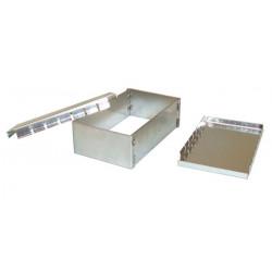 Doppia schermatura in metallo casella di emi / rfi interferenze box di protezione 83x50x26mm alta frequenza bassa