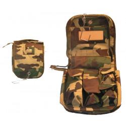 Trousse toilette militaire sac transport camouflage ttopsgmc paramilitaire hygiene armé