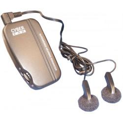 Amplifier ambient electronic sound amplifier sound amplifier with two auricles discrete electronic remote listening discrete rem