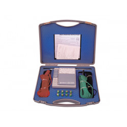 Analogue earth resistance tester detector house safety