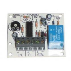 Module electronique temporisation alarme electronique 12vcc 0 à 3mn, modules alarmes