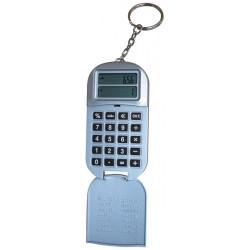 Calcolatrice portachiave con euroconvertitore + gettone per sbloccare carrello supermercato
