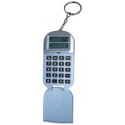 Calculatrice electronique convertisseur euro porte clef jeton caddie supermarche