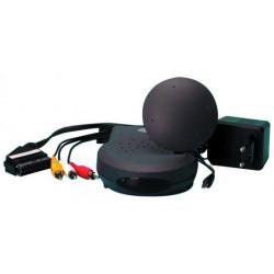 Emetteur video 2.4ghz 10mw camera sans fil cnsfrx ccsfrx txrx m12sf transmission