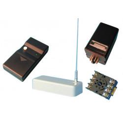Pack domotique compose de 1 telecommande radio albano tx16 1 recepteur radio rx16 ae3006  etc