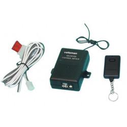 Pack domotique de 1 telecommande radio tx6 600-2n 600-1b 1 recepteur radio rx6 am6621
