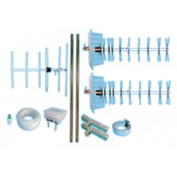 Kit antenna u43+u10+v5+243f+2604+4100+1535+etc kit antenna televisione antenna esterna abitazione