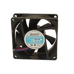 Ventilateur electrique 12v 80mm 80x80x25mm roulement a aiguilles bls12/80 bss12/8lc refroisissement