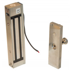 Suction cup 12vdc flush fitting electromagnetic lock, 180kg electromagnetic lock magnetic door