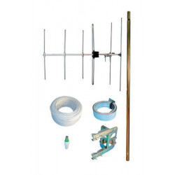Antenna pack aerial television pack with v5 5 10 channel television antenna+ 1303 single clamp ratchet + 4100 clamp strapping+ 1