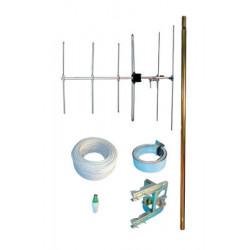 Kit antenna v5+1303+4100+1535+30m 3c2vm kit antenna televisione antenna esterna abitazione