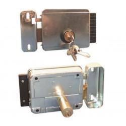 Cerradura electrica apertura a la izquierda salezido 12vca reglable de 50 hasta 80mm