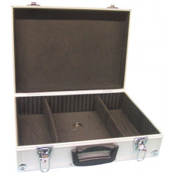 Aluminium tool case 425 x 305 x 125mm tools cases key bag