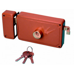 Double imput security lock, ø26x46mm locks mechanic opener system anti theft anti robbery system personal security anti assault