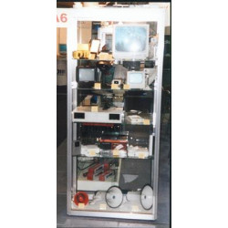 Rental display folding store window display + packaging case campstool store window displays packaging cases folding store windo